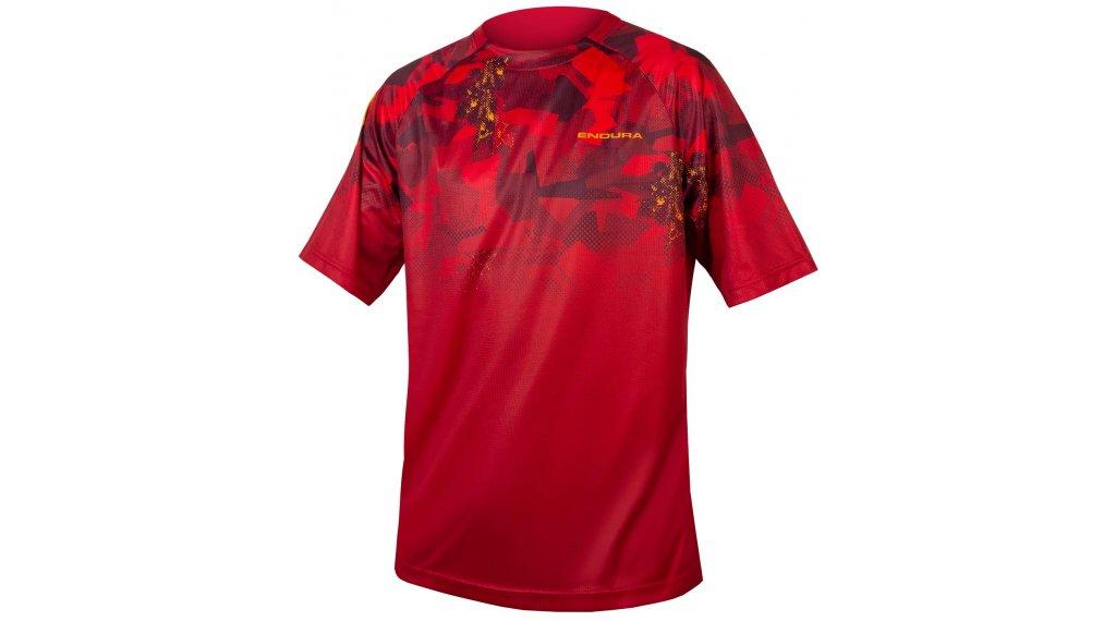 Endura SingleTrack Print T-LTD t-shirt da uomo mis. S rust rosso