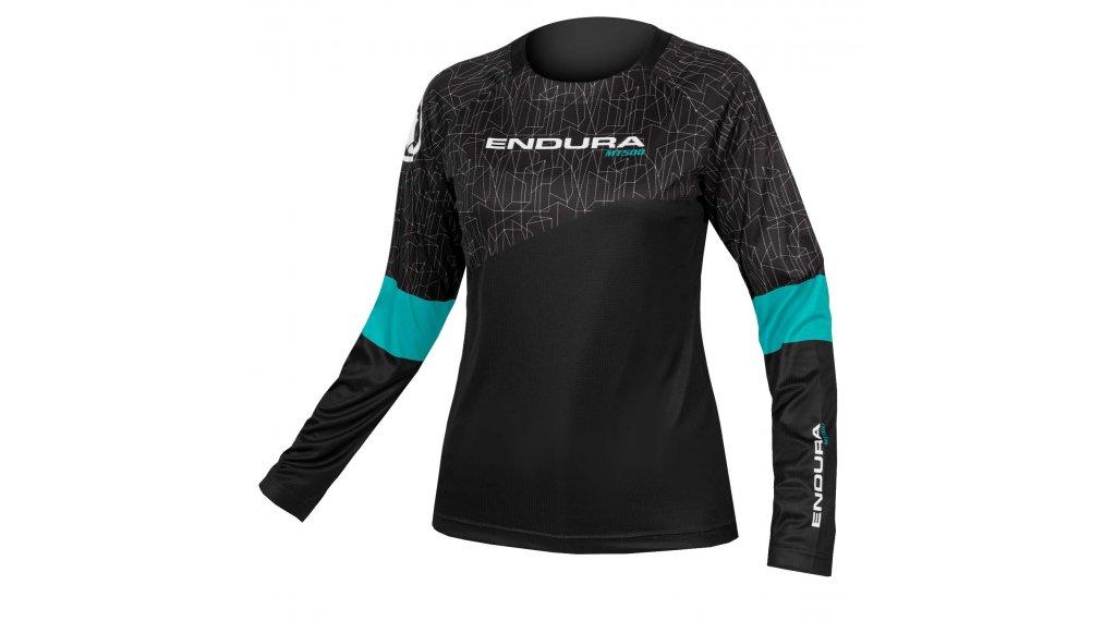 Endura MT500 L/S Print T II T-Shirt Damen Gr. XS schwarz