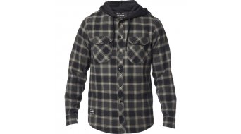 Fox Avalon langarm Flannelhemd Herren black
