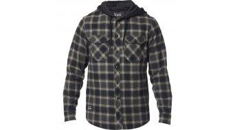 FOX Avalon lange mouw Flannel shirt heren black