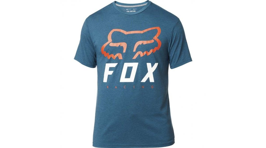 FOX Heritage Forger manica corta t-shirt uomini mis. S heather blue
