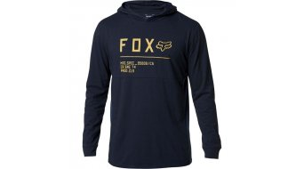 FOX Non Stop Hooded t-shirt manica lunga da uomo mis. S midnight