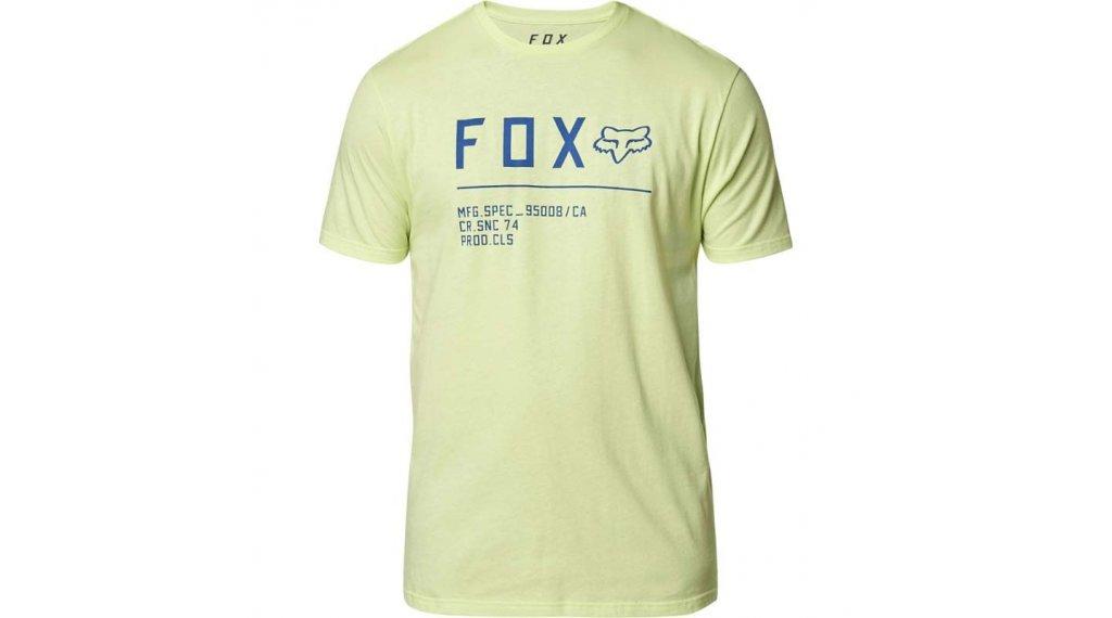 Fox Non Stop Premium T-Shirt 短袖 男士 型号 S 青柠色