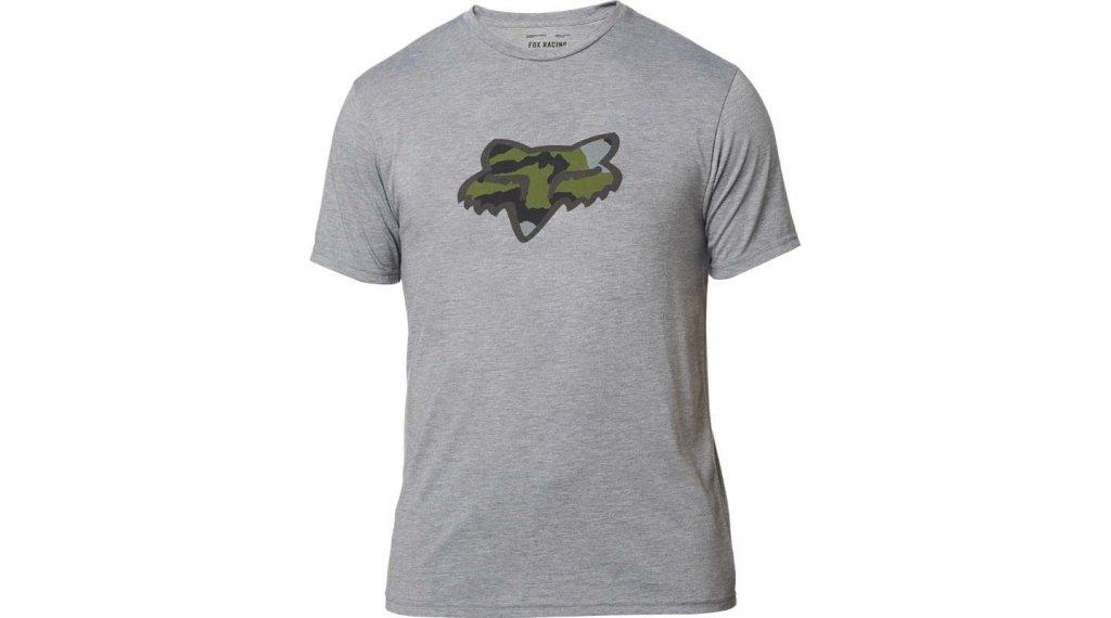 Fox Predator Tech T-Shirt kurzarm Herren Gr. S heather graphite