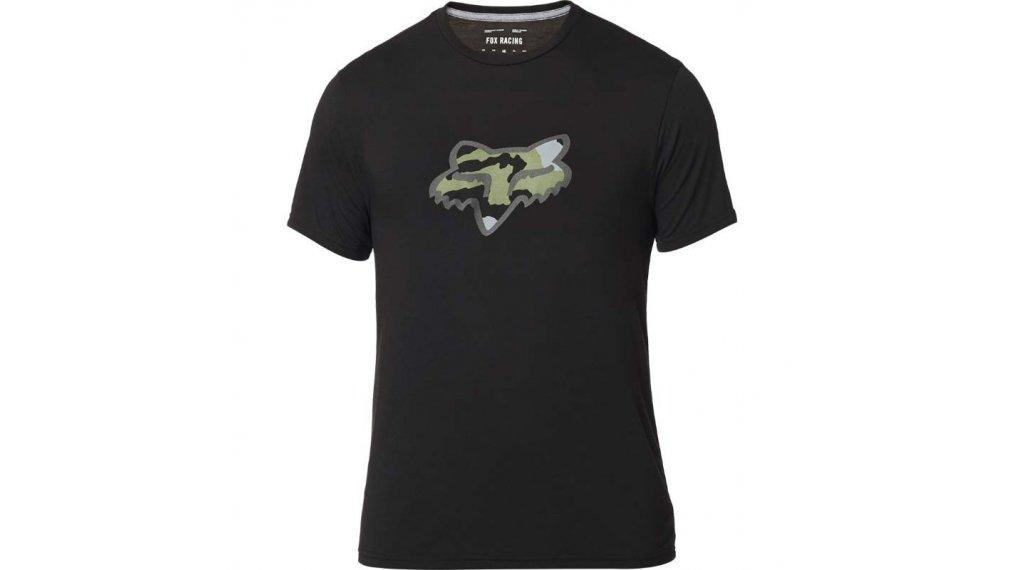 Fox Predator Tech T-Shirt kurzarm Herren Gr. S black