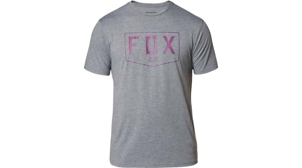 Fox Shield Tech T-Shirt 短袖 男士 型号 S heather graphite