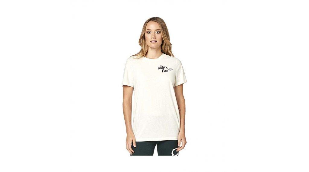 Fox Mojave kurzarm T-Shirt Damen Gr. S beige