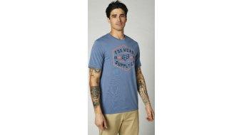 FOX Backbone Tech t-shirt manches courtes hommes Gr. S avec bleu