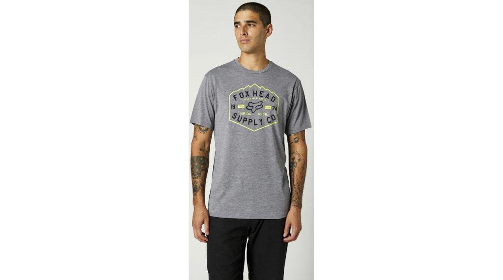 FOX Backbone Tech t-shirt manches courtes hommes Gr. S heather graphite