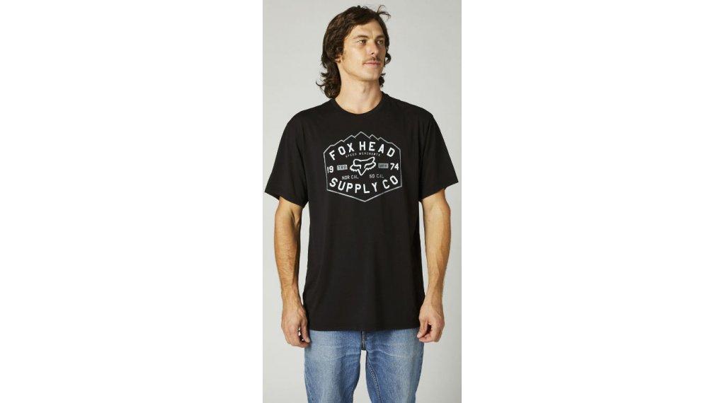 FOX Backbone Tech t-shirt manches courtes hommes Gr. S noir