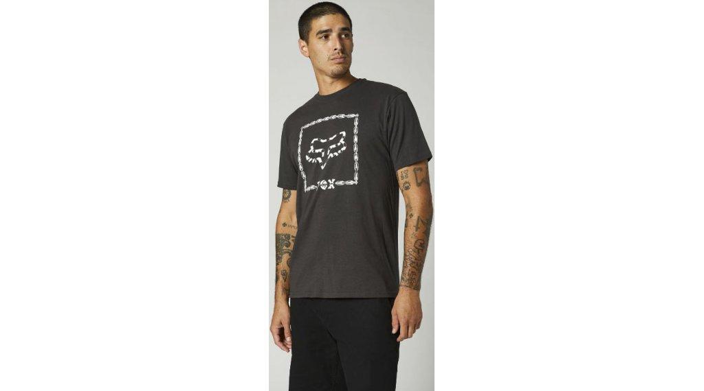 FOX Cell Block premium t-shirt manches courtes hommes Gr. S noir vintage
