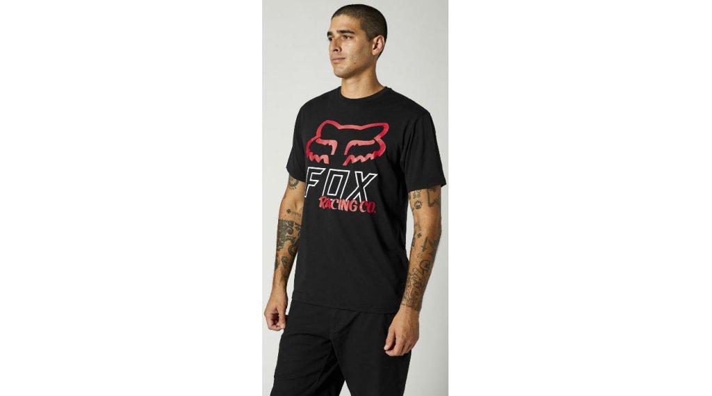 Fox Hightail Tech camiseta de manga corta Caballeros tamaño S negro