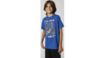 FOX Cypher Детска Тениска с къс ръкав, размер_M_royal_синьо- Sample