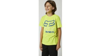 FOX Hightail T-shirt short sleeve kids size M flo yellow- Sample