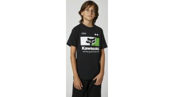Fox Kawasaki Good Times T-Shirt kurzarm Kinder Gr. M black - Sample
