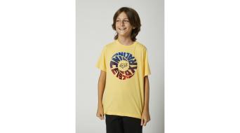 FOX Revolver Тениска с къс ръкав, детски/деца размер_M_пясъкburst- Sample