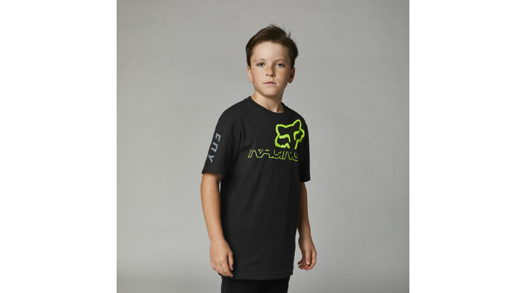 Fox Skew T-Shirt kurzarm Kinder Gr. M black