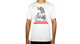 FOX Bear Republic T-shirt short sleeve men-T-shirt size XXL optic white