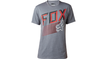 Fox Efficiency camiseta de manga corta Caballeros-camiseta Tee tamaño L heather graphite
