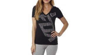 Fox Angled camiseta de manga corta Señoras-camiseta Womens V-Neck Tee