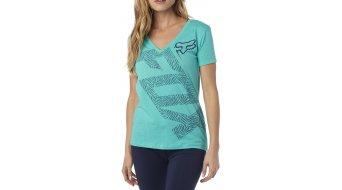 Fox Angled T-Shirt kurzarm Damen-T-Shirt Womens V-Neck Tee