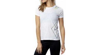 Fox Cornered T-Shirt kurzarm Damen-T-Shirt Womens Crew Neck Tee light heather grey