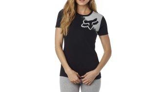 Fox Palpitate camiseta de manga corta Señoras-camiseta Womens Crew Neck Tee negro