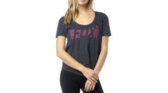 Fox Raced Scoop T-Shirt kurzarm Damen-T-Shirt Womens Tee heather black