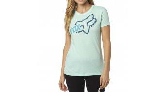 Fox Reacted T-Shirt kurzarm Damen-T-Shirt Crew Neck
