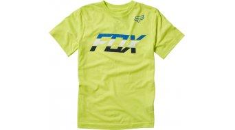 FOX Seca Splice t-shirt manica corta bambini- t-shirt Youth mis. YXL flo yellow