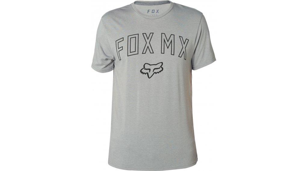 d4198a7401 FOX Dirt Mix Tech póló rövid ujjú férfi Méret S heather sötét grey