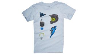 Fox Out Ahead Kids niños camiseta de manga corta tamaño 110/116 (K-M) heather grey