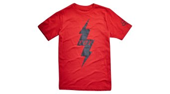 Fox Pre Mortum Youth niños camiseta de manga corta tamaño 134 (und-M) dark rojo