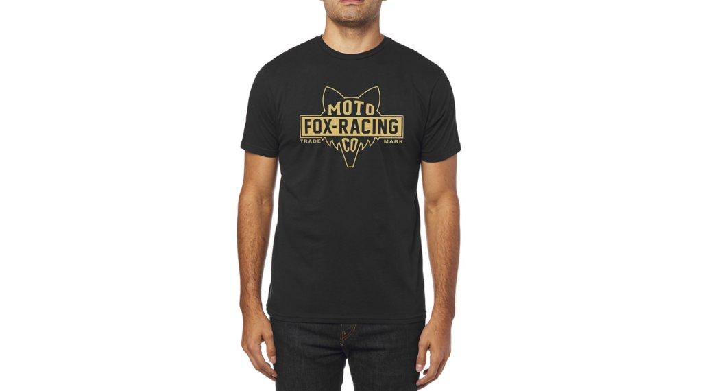 3e2b95e7bd FOX Flat Head SS premium tričko pánské velikost L black