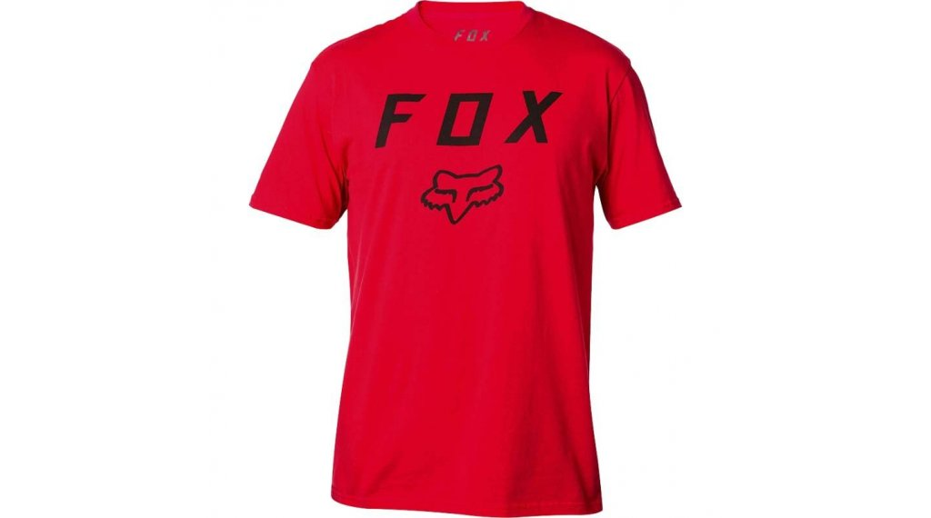 Fox Legacy Moth T-Shirt 男士 型号 L dark red