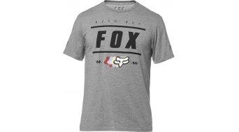 FOX Team 74 Tech tričko pánské velikost S heather graphite