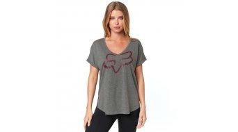 Fox Responded Vneck T-Shirt 短袖 女士 型号 M graphite