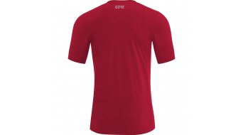 GORE R3 T-Shirt kurzarm Herren Gr. S red melange