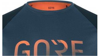 Gore Wear Devotion t-shirt manches courtes hommes Gr. S orbit bleu/fireball