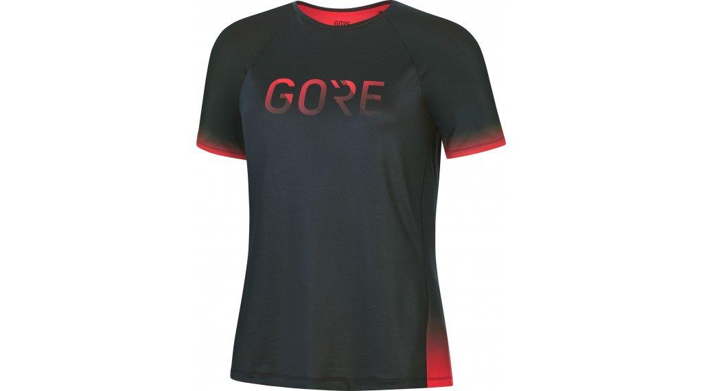 Gore Wear Devotion t-shirt manches courtes femmes Gr. XXS (34) noir/hibiscus rose