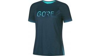 Gore Wear Devotion t-shirt manches courtes femmes Gr. orbit bleu/scuba bleu