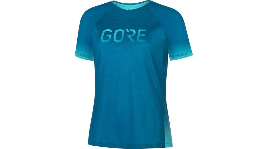 Gore Wear Devotion t-shirt manches courtes femmes Gr. XXS (34) sphere bleu/scuba bleu