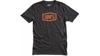 100% Essential T-Shirt Herren kurzarm Gr. S charcoal heather/bronze