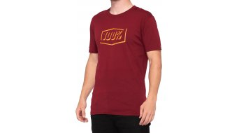 100% Phantom Tech T-Shirt kurzarm Herren Gr. S brick