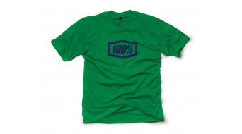 100% Essential T-Shirt kurzarm Gr. S green