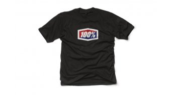 100% Official T-Shirt kurzarm Herren black