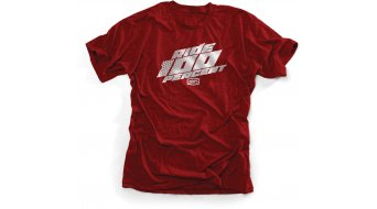 100% Pocono T-Shirt 短袖 型号 cardinal heather