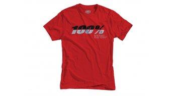 100% Bristol T-Shirt 短袖 男士 型号 red