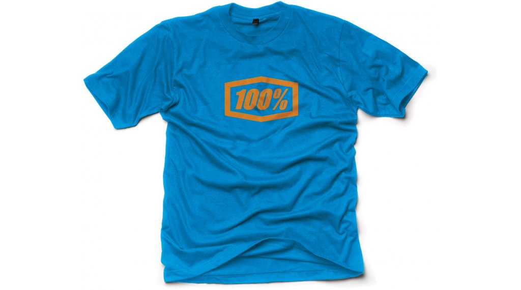 100% Essential T-Shirt 短袖 男士 型号 S blue