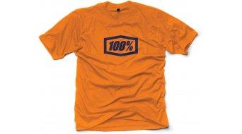 100% Essential T-Shirt 短袖 男士 型号 S 橙色